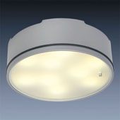 LED Anbauleuchte D2-1 chrom-matt